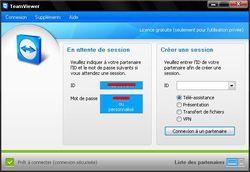 TeamViewer screen 1