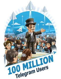 Telegram-100-millions