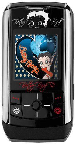 Téléphone Betty Boop