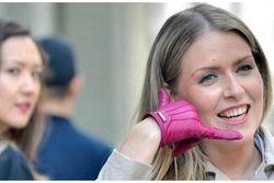 téléphone gants