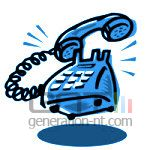 Telephonebleu