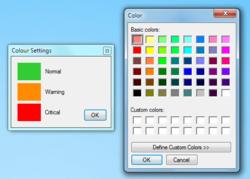 Temp Taskbar screen