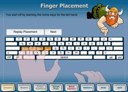 Ten Thumbs Typing Tutor screen 1