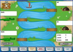 Ten Thumbs Typing Tutor screen 2
