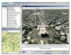 TerraExplorer  screen 1