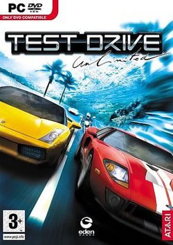 Test Drive Unlimited   packshot