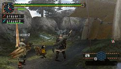 test monster hunter freedom 2 psp image (4)