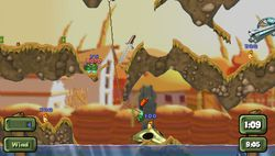test worms open warfare 2 psp image (3)