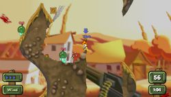 test worms open warfare 2 psp image (6)