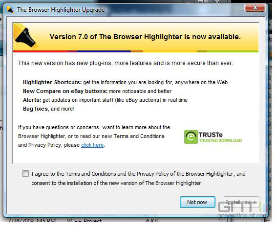 The Browser Highlighter