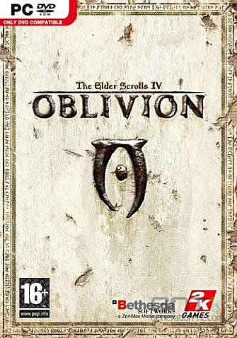 The elder scrolls iv oblivion jaquette pc