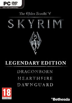 The Elder Scrolls V Skyrim - Legendary Edition - pochette