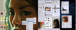 The GIMP screen1