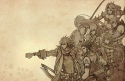 The Last Story - artwork personnages