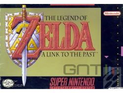 The Legend of Zelda : A Link to the Past - Pochette