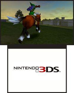 The Legend of Zelda : Ocarina of Time 3D - 3