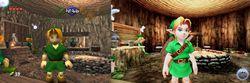 The Legend of Zelda Ocarina of Time - 3DS vs. N64