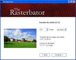 The Rasterbator screen1
