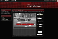 The Rasterbator screen2