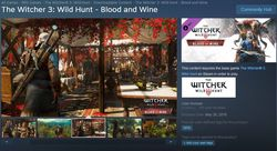 The Witcher Blood and Wine - Steam