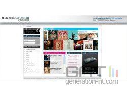 Thomson link capture ecran page accueil small