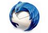 Thunderbird 17 avec bouton de type Firefox