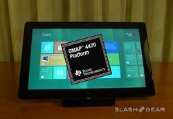 TI OMAP4470 Windows 8