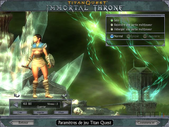 Дополнения К Titan Quest Immortal Throne