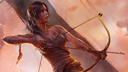 Tomb Raider - artwork.