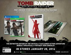 Tomb Raider : Definitive Edition - pack