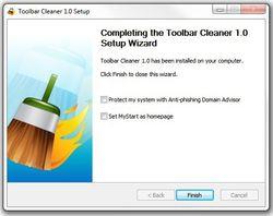 Toolbar Cleaner screen1