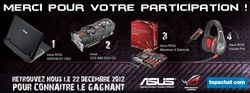 TopAchat concours ROG