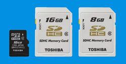 Toshiba SDHC 16Go