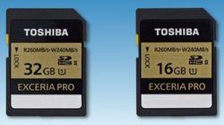 Toshibra Exceria Pro
