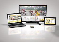Tour France 2013 multiécran