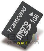 Transcend microsd 1 go