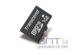 Transcend microsd 1gb small