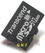Transcend microsd 80x 512 mo