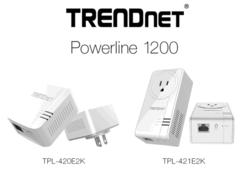 TRENDnet CPL 1200
