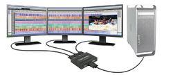 TripleHead2Go traitement audio vid