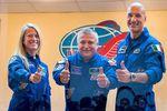 trois nouveaux astronautes dans l\'iss