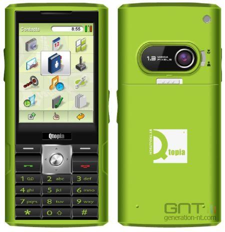 Trolltech greenphone plate forme qtopia