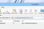 TumblOne : sauvegarder les images de son blog Tumblr