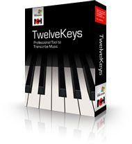 TwelveKeys Music logo