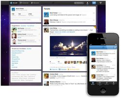 Twitter-interface-fly