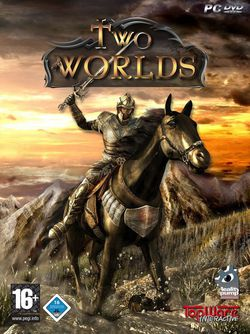 Two worlds packshot