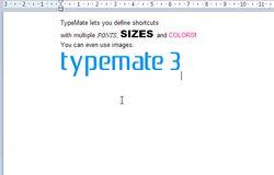 TypeMate screen 2