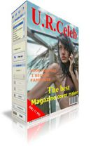 U.R. Celeb : éditer des couvertures de magazines
