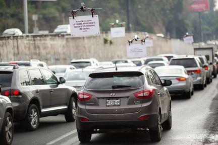 Uber Drones mexico