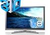 Test TV Samsung UE46C8700 : 3D, internet, dlna, la télévision du futur